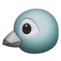 apple bird emoji