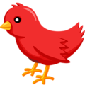 messenger bird emoji