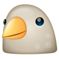 whatsapp bird emoji